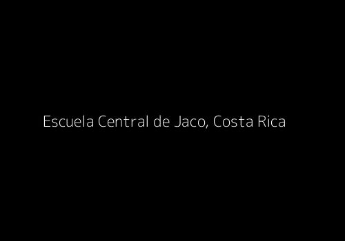 Dummy image for text 'Escuela Central de Jaco, Costa Rica'. Banner Size: 500 x 350