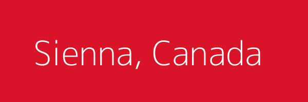 Dummy image for text 'Sienna, Canada'. Banner Size: 600 x 200