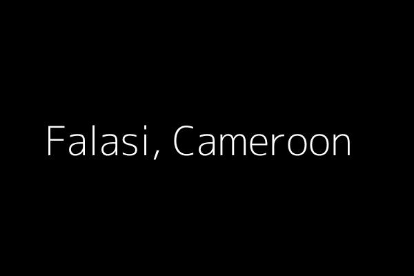 Dummy image for text 'Falasi, Cameroon'. Banner Size: 600 x 400