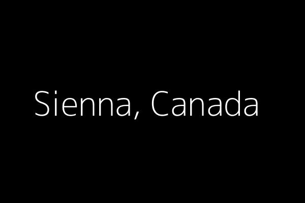 Dummy image for text 'Sienna, Canada'. Banner Size: 600 x 400